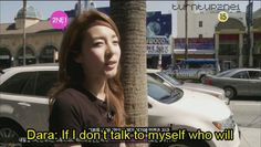 Dara is my spirit animal....I'm going to have to remember this next time someone points out I am talking to myself