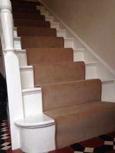 Butterscotch colour wool velvet Carpet to compliment tiles!