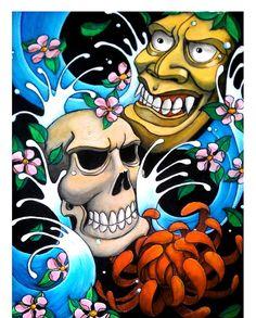 Skull & Mask