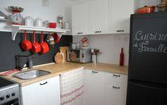 cocina con encimera madera - El top 3 en encimeras de cocina: granito, mármol sintético y madera