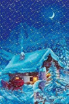 """""""flocons de neige"""" (rétrogirl)"""