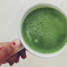 Fitness guru Hannah Bronfman shares her delicious recipe for a Matcha Latte.