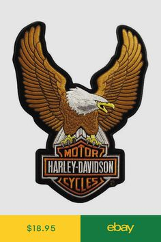Find Genuine Harley Davidson Motorcycles patches here. We have all kinds of Classic, vintage & Brand New Harley Davidson emblems & patches! Harley Davidson Logo, Harley Davidson Patches, Harley Davidson Images, Harley Davidson Tattoos, Harley Davidson Motorcycles, Harley Tattoos, Dresden, Eagle Drawing, Stickers