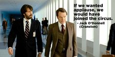 Here's a quote from Argo to kick off your week...