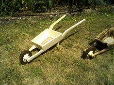 LadislavKurnota / Fúrik a stojan na kvety Wheelbarrow, Garden Tools, Baby Strollers, Children, Baby Prams, Young Children, Boys, Yard Tools, Kids