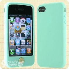 SwitchEasy Colors Pastels for iPhone 4S/4 (Mint Green)