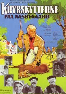 Krybskytterne på Næsbygård (1966) 3 film om Næsbygård.
