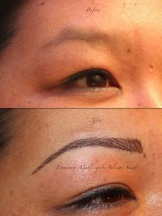 Hairstroke eyebrows#brows #beauty #semipermanentmakeup #micropigmentation #cosmetictattooing #cosmetic #pmu #permanentmakeup#before #after #eyebrowtattoo