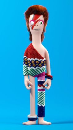 David Bowie - CGI by Kibooki