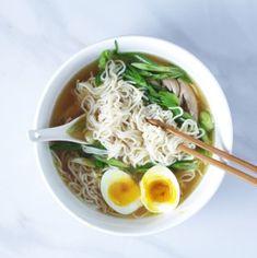Easy Keto Chicken Ramen - Broke foodies