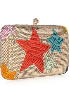 Sylvia Toledano look Collection Swarovski Crystal-embellished Box Clutch CsKtLTO