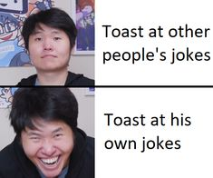 Kind of an old meme but as soon as i saw that face i couldn't resist lol : offlineTV Stupid Funny Memes, Funny Facts, O Tv, Youtube Gamer, I Want To Cry, All The Things Meme, Mood Pics, Reaction Pictures, Youtubers