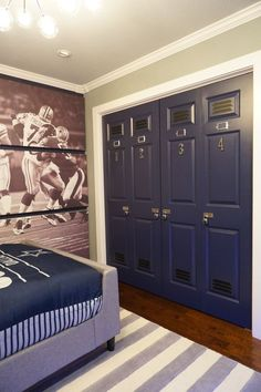 One Room Challenge: Paint, Wall Art, & A Locker | Painted wall art ...