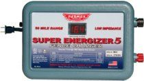 Black Friday 2014 Parmak Super Energizer 5 Low Impedance Volt 50 Mile Range Electric Fence Controller from Parmak Cyber Monday High Tensile Fence, Sheep Fence, Fencing Supplies, Industrial, Solar Energy System, Energy Technology, Range, Digital, Electric