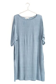 This lightweight tunic is so versatile. Wear it on its own during warm days or layer it over pants and leggings when things cool down. Details: 100% rayon.