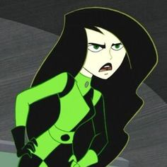 """Shego (voiced by Nicole Sullivan) from """"Kim Possible"""" of my favorite female villains :) Cartoon Icons, Girl Cartoon, Cartoon Characters, Kim Possible Shego, Female Villains, Disney Villains, Peinados Pin Up, Nickelodeon, Cartoon Profile Pictures"""