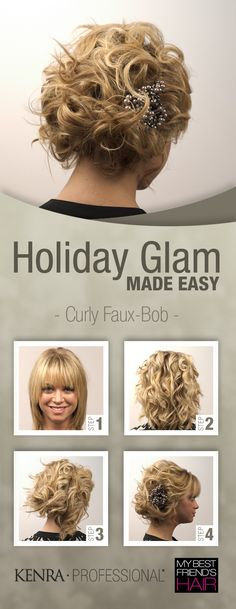 Curly Faux Bob - like this