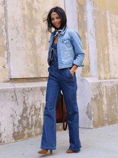 Os melhores looks com a peça mais coringa que existe: o Jeans!