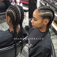 4 braids #houstonbraider #feedinbraids #houstonbraids #houstonstylist #styleseathouston #braids