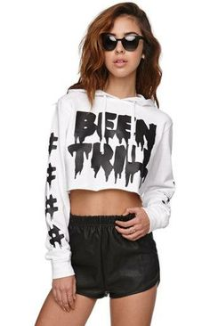 Been Trill Drip Cropped Hoodie #pacsun Pintrest: Jade Shateria ❤️❤️❤️