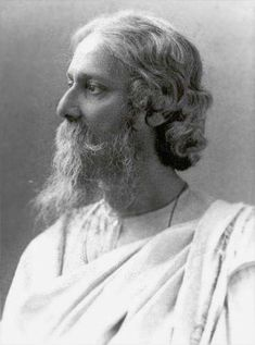 Rabindranath Tagore Nobel Prize of Literature. A Bengali polymath who reshaped his region's literature and music. Author of Gitanjali he became the first non-European to win the Nobel Prize in Literature in Rabindranath Tagore, Victor Hugo, National Anthem Of India, Tagore Quotes, Calcutta, Indian Poets, Beautiful Verses, Nobel Prize In Literature, Hermann Hesse
