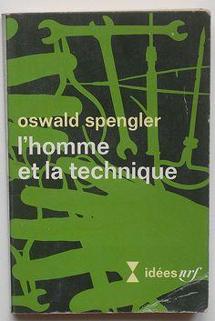 Oswald Spengler: L'homme et la technique. Cover, Henry Cohen, 1969.