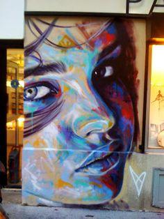 Street Art-David Walker-Rue Scarron  (Paris)