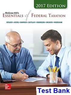 Free download or read online essentials of marketing a marketing test bank for essentials of federal taxation 2017 8th edition by spilker fandeluxe Choice Image