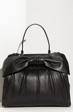 I have a leather bag that closely resembles this...sweet!  Valentino 'Aphrodite' Leather Shopper | Nordstrom