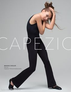 Maddie modeling for Capezio!!! Follow: @TalentedDancers for more recent pics!