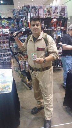 Ghostbusters cosplay at our Comikaze Expo 2015 booth. www.itcamefromplanetearth.net