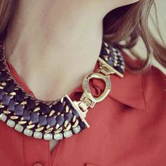 Stella & Dot Tempest Necklace. So cool... can be worn 3 ways.