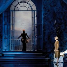 Scenic design for Rebecca original Vienna production