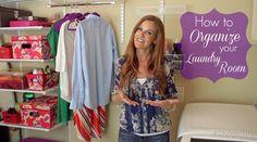 How to Organize Your Laundry Room - ExtraordinaryMommy.com