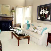 Casual Transitional Living & Family Room by Joann Kandrac & Kelly Kole