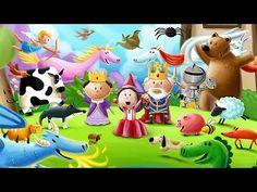 Prinzessin Lila - Englischsprachige Kinder App für kleine Mädchen