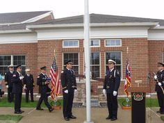 Willoughby Fire station - 9/11 memorial dedication ceremony