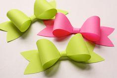 Laço de papel para presente do Dia das Mães | Como fazer em casa Artesanato