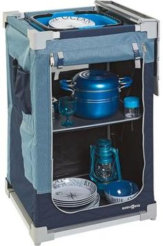 Brunner Jum Box ST 3G Campingschrank, 52,5x90x50 cm, blau