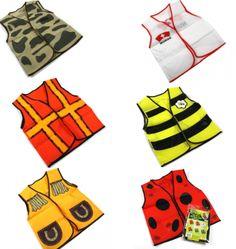 Children Vest Dress UP Costume Boys Girls Nurse Army BEE Lady Beetle Cowboy Work   eBay