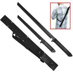Twin Ninja Set - Two Swords - One Sheath - $28.95