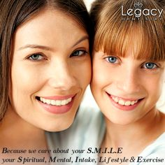 We look at your overall health and wellbeing as the ruler by which we measure your oral health. We take into consideration your physical, mental, and spiritual health before deciding how to treat your mouth. Know more at http://www.legacydentistry.com/…/what-is-holistic-dentistry/ Book your appointment by calling us on 972-723-1148 or email us at info@legacydentistry.com #legacydentistry #midlothian #texas