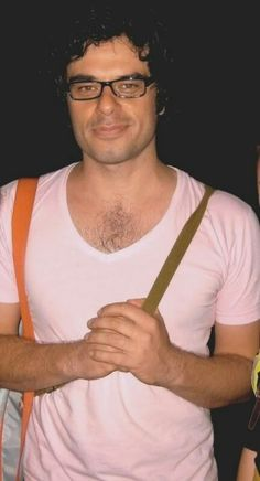 :) I love Jemaine Clement. New Zealander. So funny and smart. I could listen to him all day. And look at him all day.