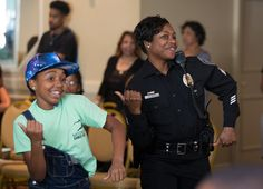 Police Hit the Dance Floor With City Youth to Find 'Unity in Community' (WATCH)