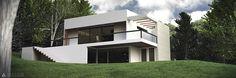 3D Blender Cycles render Architecture maison www.arkilium.com