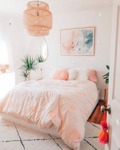 Home Interior Decoration .Home Interior Decoration Cute Bedroom Ideas, Cute Room Decor, Small Bedroom Designs, Aesthetic Room Decor, Stylish Bedroom, Dream Rooms, Home Interior, Interior Colors, Interior Livingroom