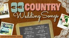 """Looking for the best country wedding songs for your wedding playlist? A wedding isn't complete withouta little country music touch. Especially since the country genrepertains tohome, family, and love. How many times has George Strait's """"I Cross My Heart"""" been played for the traditional first danc"""