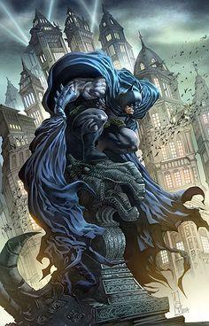 Batman Commission | Illustration Art | The Design Inspiration