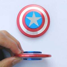 This is a Beautifully Designed Captain America Shield Fidget Hand Spinner providing Precision Spin and Quality Craftsmanship. An Awesome add-on to Any Collection. Everybody wants FREE Shipping. Griffi
