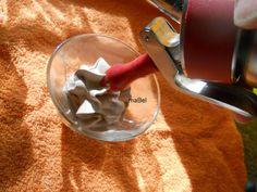 Pasteles de colores: Mousse de chocolate con sifon